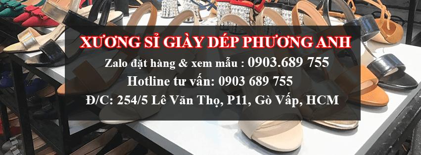 Hình thức liên lạc với xưởng sản xuất giày dép da Phương Anh