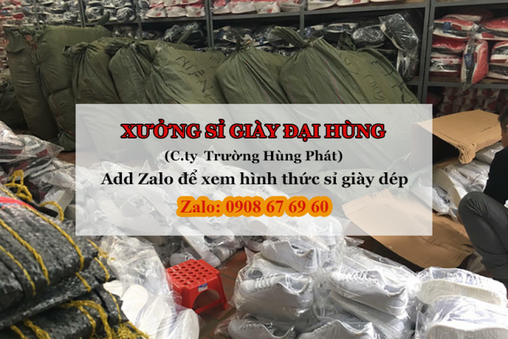kinh doanh giay dép- xưởng sỉ giày Hùng Phát
