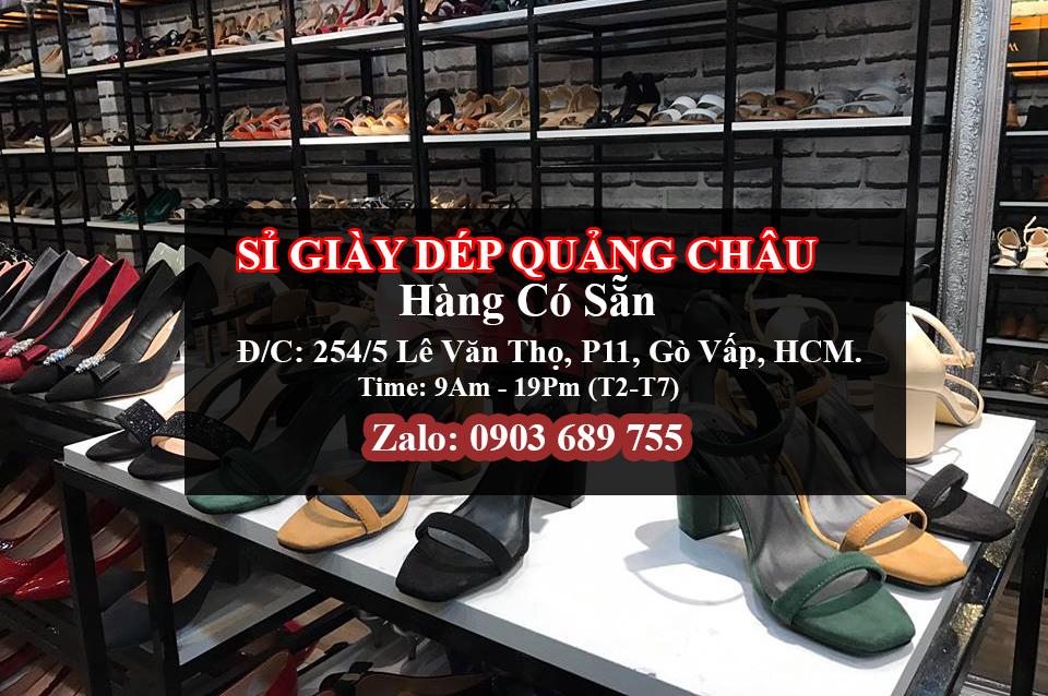 Giày công sở- xưởng sỉ giày Hùng Phát
