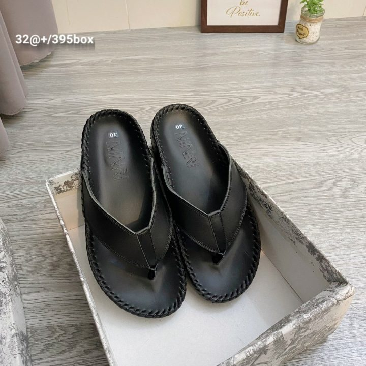 Dép kẹp da trơn - Xưởng sản xuất giày dép da Phương Anh