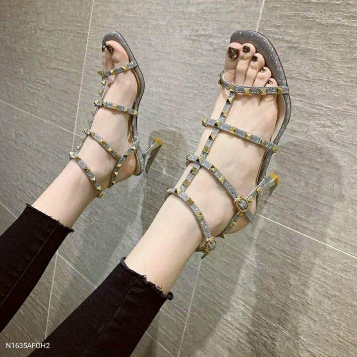 Sandal got đinh - Si giay Quang Chau Full hop